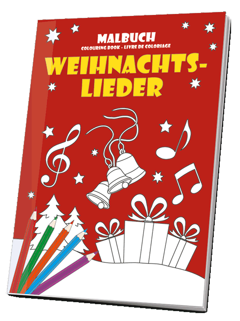 Weihnachtslieder Für Erwachsene.Malbuch Weihnachtslieder