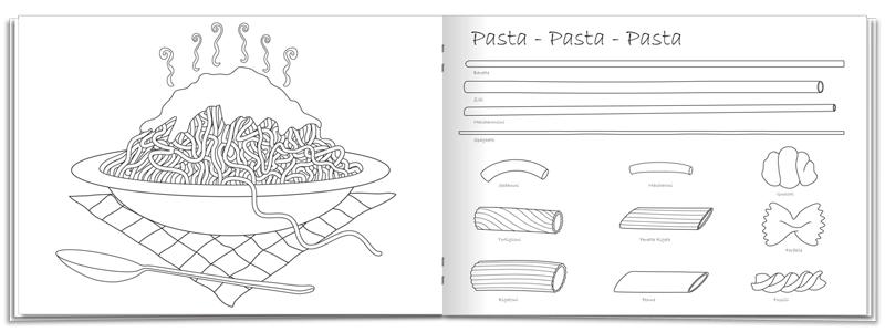 Ziemlich Pizza Malbuch Fotos - Framing Malvorlagen ...